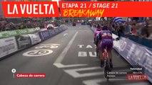 Echappée / Breakaway - Étape 21 / Stage 21 | La Vuelta 19