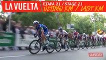 Ultimo kilómetro / Last kilometer - Étape 21 / Stage 21 | La Vuelta 19