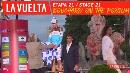 Bouchard sur le podium / Bouchard on the podium - Étape 21 / Stage 21 | La Vuelta 19