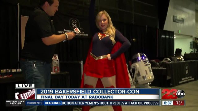 Meet your favorite super heroes and action stars during Bakersfield Collector-Con