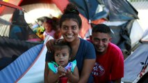 Honduran newlyweds cling to asylum dream, as chances dim