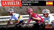 Resumen Flash - Etapa 21 | La Vuelta 19