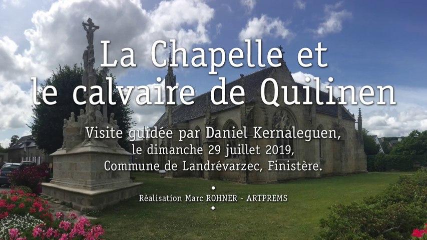 Calvaire et Chapelle de QUILINEN, visite guidée par Daniel KERNALEGUEN, 29 juillet 2019