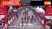 Resumen - Etapa 21 | La Vuelta 19