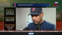 Red Sox Manager Alex Cora Praises Rick Porcello After Win Over Phillies
