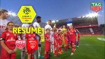 Dijon FCO - Nîmes Olympique (0-0)  - Résumé - (DFCO-NIMES) / 2019-20