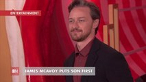 James McAvoy Knows How To Be A Dad
