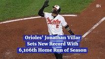 Jonathan Villar's New Record