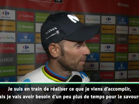 """Vuelta - Valverde : """"Je vais avoir besoin de temps pour savourer"""""""