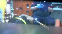 Kağıthane'de minibüs takla attı: 4 yaralı