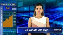 Wall Street posts mixed finish, investors await Fed's rate decision: Aus shares to open lower