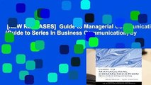 [NEW RELEASES]  Guide to Managerial Communication (Guide to Series in Business Communication) by
