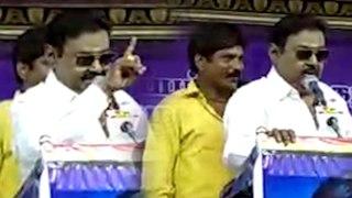 Vijaykanth speech in tiruppur   திருப்பூர் மாநாட்டில் விஜயகாந்த் பேச்சு, தொண்டர்கள் உற்சாகம்