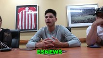 Ryan Garcia Raw And Uncut Talks Duno Sparrow GBP