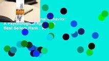 Full version  Criminal Behavior: A Psychological Approach  Best Sellers Rank : #3