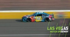Kyle Busch hits wall early at Las Vegas, drops two laps down