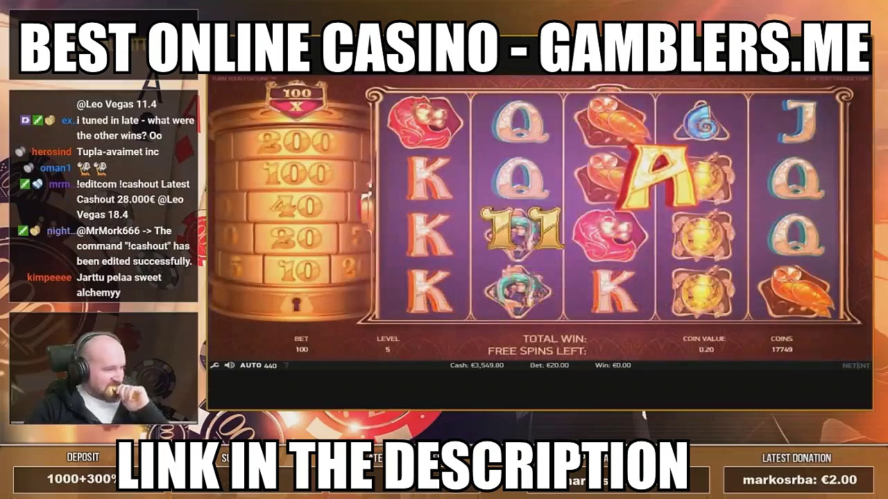 Big Bet! Nice Win From Turn Your Fortune! ONLINE CASINO LIVE STREAM 2019