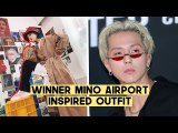 WINNER Mino Airport Style Inspired Outfits (MORE Korean Online Stores) | Q2HAN