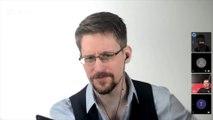 """Edward Snowden, lanceur d'alerte exilé en Russie : """"Je vis une vie aussi ordinaire que possible dans la situation dans laquelle je suis"""""""