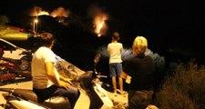 Bodrum'da çıkan yangın için ekipler seferber oldu
