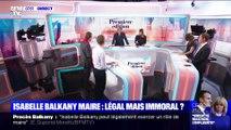 L'édito de Christophe Barbier: Isabelle Balkany maire, légal mais immoral ?
