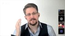 """Edward Snowden : """"La raison pour laquelle les géants de l'Internet ont du succès aujourd'hui, c'est qu'on n'a pas d'alternative"""""""
