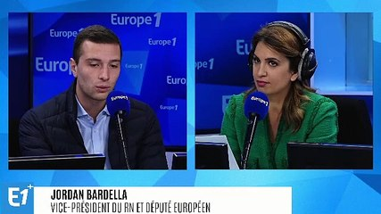 Jordan Bardella - L'interview de 8h15 (Europe 1) - Lundi 16 septembre