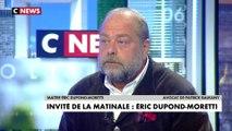 L'interview d'Éric Dupond-Moretti