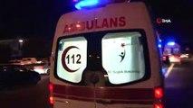 TEM Otoyolda Trafik Kazası! Otomobil İle Ticari Araç Çarpıştı