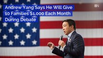 Andrew Yang's Thousand Dollar Plan