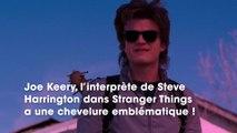 Stranger Things  Joe Keery, alias Steve Harrington, a coupé sa magnifique chevelure