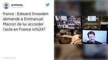 Edward Snowden souhaite qu'Emmanuel Macron lui accorde l'asile en France