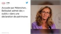 Déclaration de patrimoine : Mise en cause par Mélenchon, Belloubet admet des « oublis » rectifiés