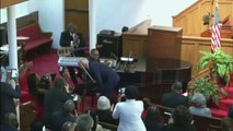 Joe Biden Speaks at the 16th Street Baptist Church to Commemorate 1963 Bombing