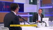 """Débat sur l'immigration : """"On va assister à des bavardages"""" entre le MoDem et LREM dit Nicolas Bay"""