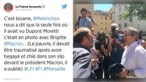 «Un machin de parano»: Dupont-Moretti se paie (encore) Mélenchon