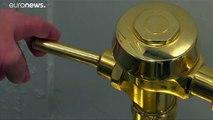 Les toilettes en or de Maurizion Cattelan ont été volées - VIDEO