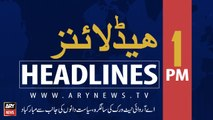 ARY News Headlines | Curfew continues on 43rd consecutive day in occupied Kashmir | 1 PM | 16 September 2019