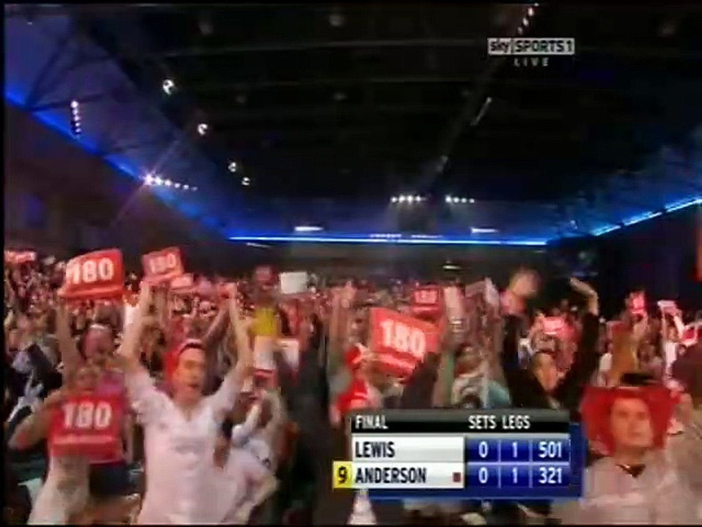 PDC World Darts Championship Final 2011 - Adrian Lewis vs Gary Anderson 2011 1of3