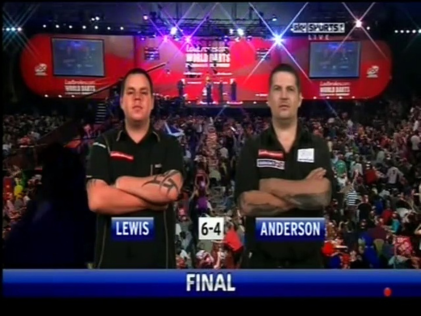 PDC World Darts Championship Final 2011 - Adrian Lewis vs Gary Anderson 2011 3of3