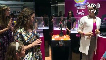 Dia de los Muertos-inspired Barbie doll unveiled in Mexico