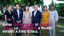 Daniel Craig : Son tendre baiser à Léa Seydoux sur le tournage du prochain James Bond