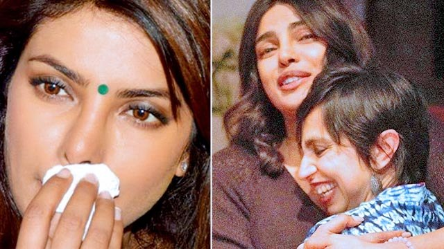 Priyanka Chopra CRIES Uncontrollably On Sets Of The Sky Is Pink