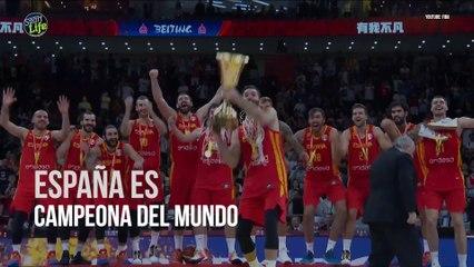 España corona dos veces el Mundial de Basket