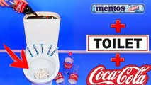 PRANKS! Funny Pranks Compilation & Mentos and Coca Cola in Toilet!