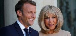 Brigitte Macron : en cadeau  de départ, ses élèves font  un pied de nez à son mari !