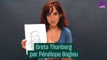 Greta Thunberg dessinée par Pénélope Bagieu