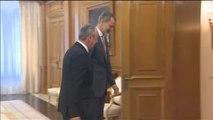 Baldoví traslada al rey que no hay motivo para cambiar su voto si el PSOE no se mueve
