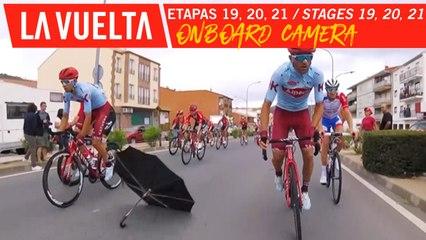 Onboard camera - Étape 19, 20, 21 / Stage 19, 20, 21 | La Vuelta 19