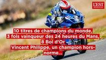 Moto : Vincent Philippe a tout gagné pendant sa longue carrière internationale